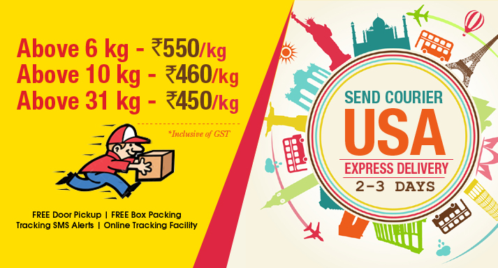 Courier to USA Special Rates