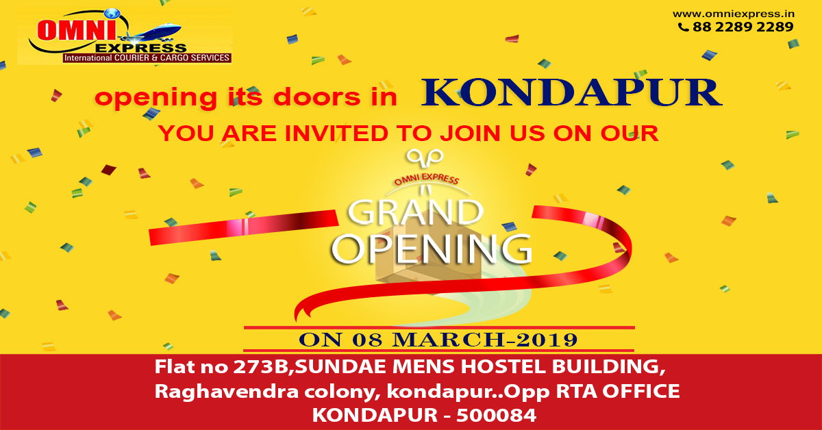 Grand Opening in Kondapur